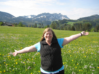 """Nancy Brown in Entlebuch"""