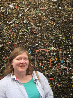 Nancy D. Brown, Bubble Gum Alley, San Luis Obispo, Travel