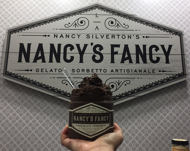 nancy's fancy, nancy silverton, fancy food show, ice cream
