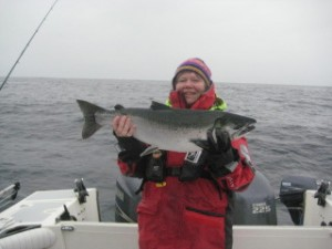 Nancy D. Brown, West Coast Fishing Club, Haida Gwaii, Canada