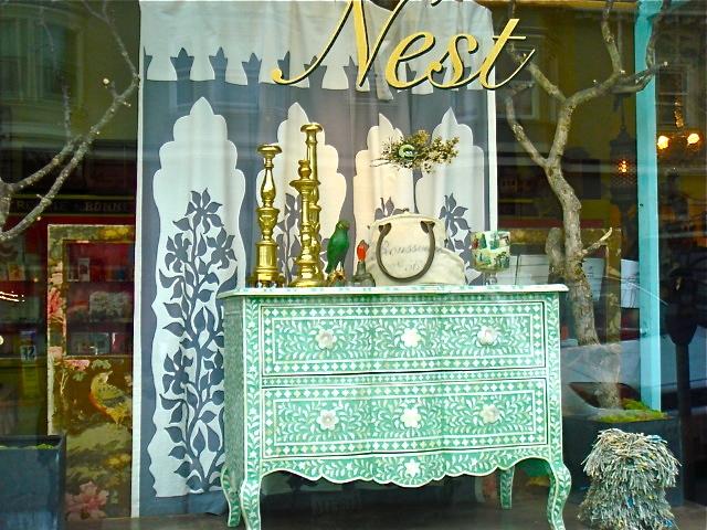 Nest, shop, Pacific Heights, San Francisco neighborhood, travel, Nancy D. Brown