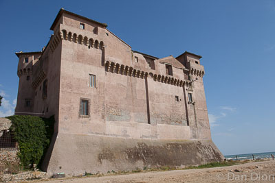 Castle by the Tyrrhenian Sea on our Taste&Travel tour.