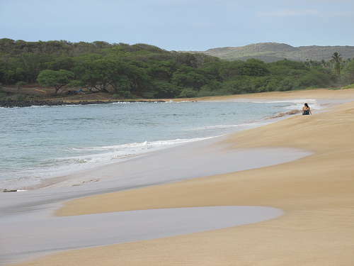 """""""Papohaku Beach"""", Molokai, Hawaii"""