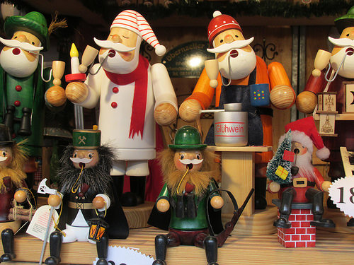 wood carving, Santa, Passau, Germany