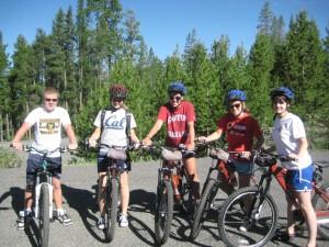 Take a downhill mountain bike ride to Paulina Plunge outside of Sunriver, Oregon