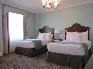 Peabody hotel, deluxe double