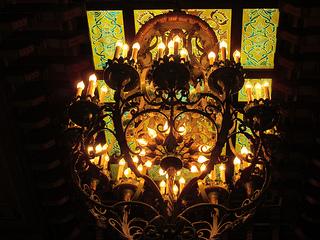 Peabody Memphis, chandelier