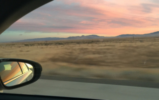 driving cross country tips, highway 80, solo car trip tips, sunrise