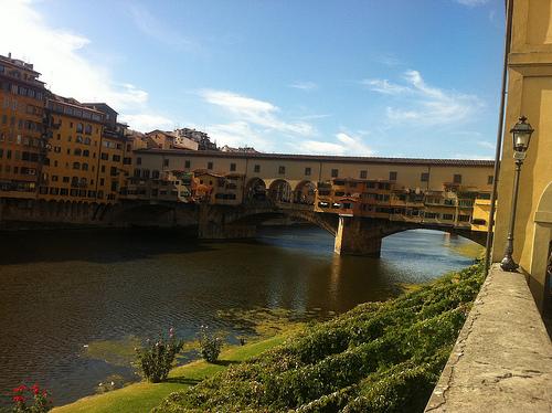 """Ponte Vecchio"" ""Arno River, Florence"""