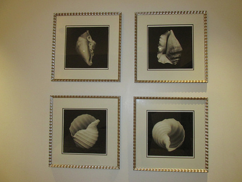 """Portola Hotel & Spa"" seashells"