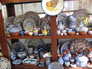Portuguese pottery, Lisbon, Portugal