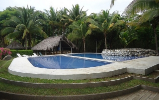 Puerto Barillas, pool, El Salvador