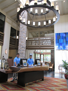 Quail Lodge lobby