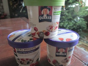 Quaker Real Medleys, oatmeal