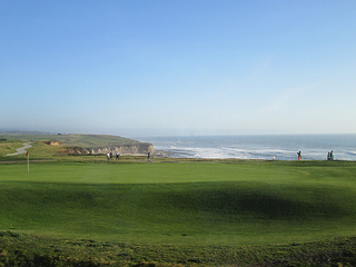 Ritz Carlton Half Moon Bay ocean view
