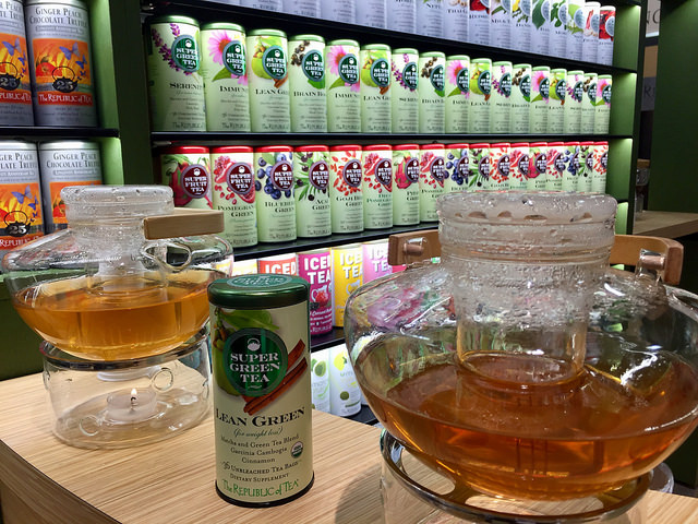 republic of tea, tea, fancy food show, novato, california