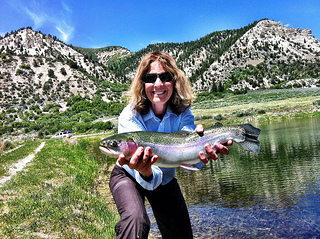 """Fly fishing in Grand Junction, Colorado"""