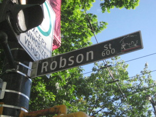 Robonson Street, Vancouver, British Columbia, things to do, Canada, Nancy D. Brown