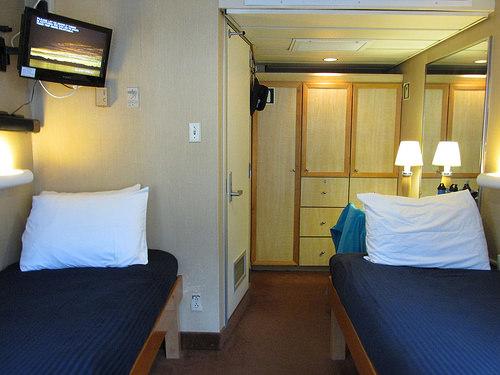 """Safari Endeavour"" stateroom"