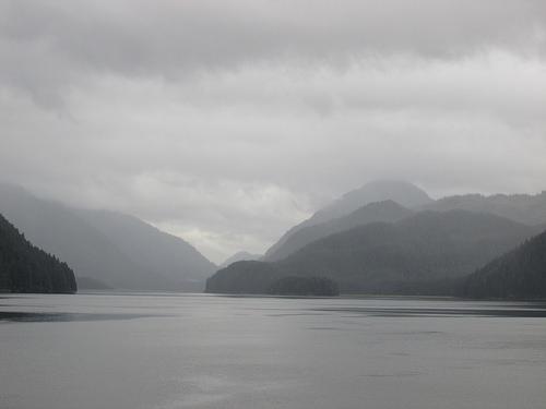 Itinerary change to Alaska's Idaho Inlet. Photo © 2014 Nancy D. Brown