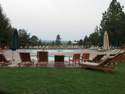 """Sunriver Lodge Village"" pool"