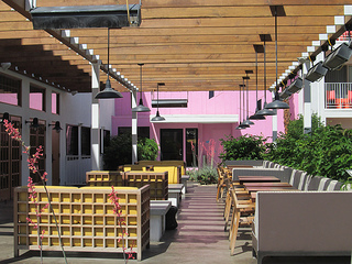Saguaro Palm Springs patio