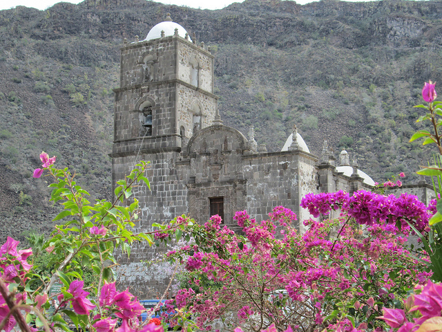 San Javier Mission, baja, mexico