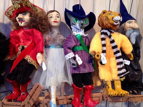 puppets, Schoenbrunn Palace, Vienna