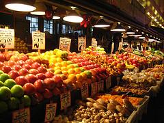 """Pike Place Market Produce"""