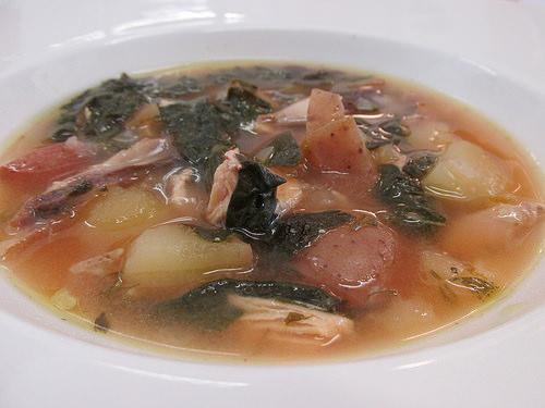 chicken soup, Silverado Cooking School