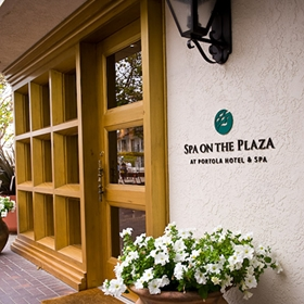 """Spa on the Plaza"" monterey"