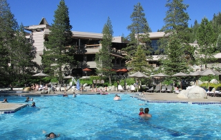 swimming pool, Resort at Squaw Creek, Lake Tahoe