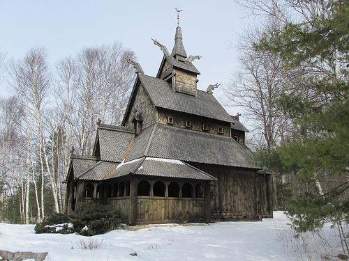 Stavkirke Church, Washington Island
