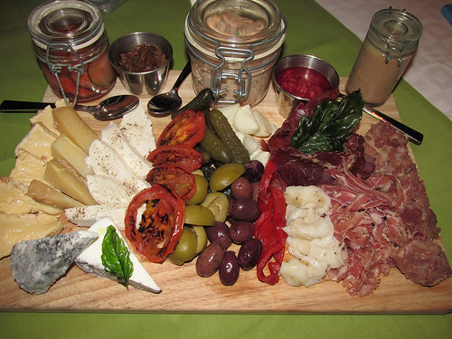 "Charcuterie ""Summit restaurant"""