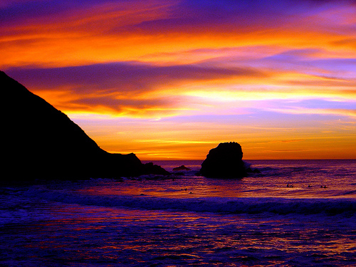 """sunset in Pacifica"""