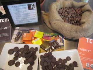 TCHO chocolates, chocolate, food tour, san francisco, nancy d. brown