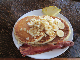 Travaasa Hana Macadamia Nut Pancakes&quot;