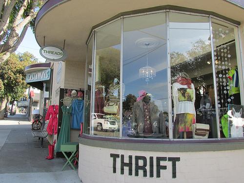 Threads, Morro Bay, California, thrift store