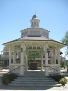 Copperopolis Town Square Gazebo, California, Nancy D. Brown