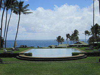 """Travaasa Hana Infinity Pool"""