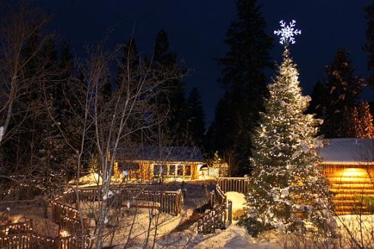 """Triple Creek Ranch for the holidays"""
