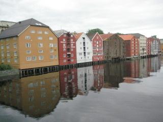 Trondheim Harbor, Wharves, Norway, Nancy D. Brown, travel, things to see