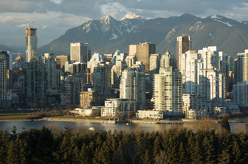 Vancouver Cityscape, Peter Andersen, Flickr, British Columbia, Canada, Nancy D. Brown