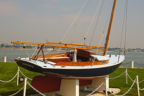 """""""Victura"""" sailboat"""