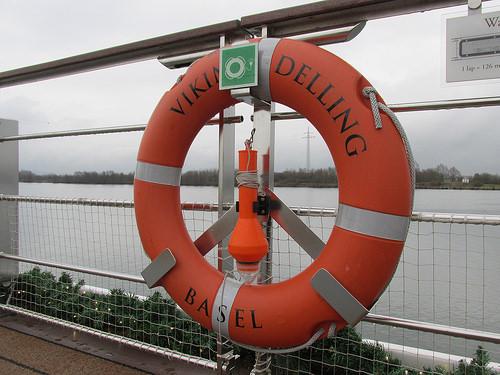 life ring, Viking Delling, Viking River Cruises