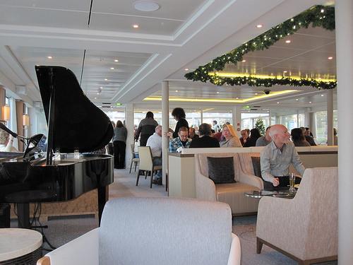 """Viking River Cruises"" longboat"
