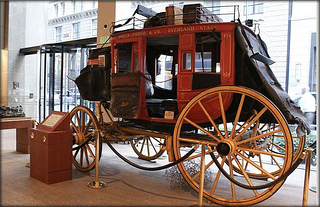 &quot;Wells Fargo stagecoach&quot;