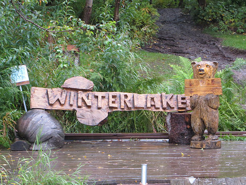 """Winterlake Lodge"" Alaska"