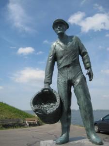 Yerseke Oyster Fisherman