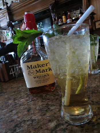 Mint Julep at the Brown Hotel Lobby Bar